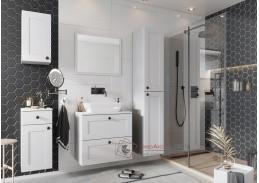 STRADONE, koupelnová sestava nábytku, bílá