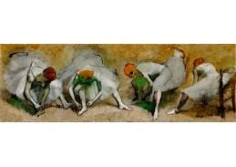 D-8435 Edgar Degas - Tanečnice před vystoupením