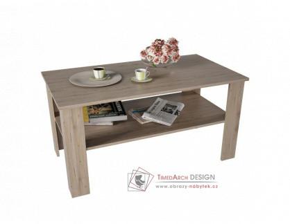 Konferenční stolek GAUDI dub san remo