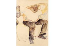 VES 102 Egon Schiele - Muž držící ženu na klíně