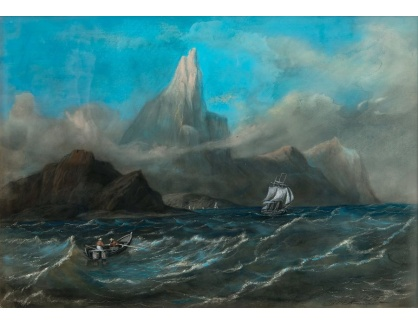 VL350 Robert Wilhelm Ekman - Na moři po bouřce