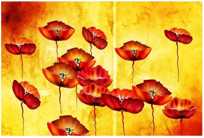 Obraz květiny 4504