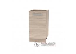 NOVA PLUS, dolní skříňka 45 1DV NOPL-063-0S, dub sonoma