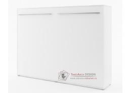 CONCEPT PRO CP-04, široká výklopná postel 140x200cm, bílá