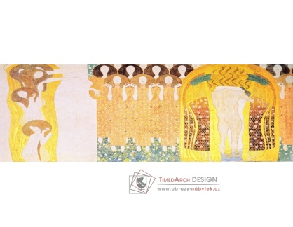 VR3-90 Gustav Klimt - Beethoven Frieze