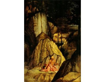 VLL 31 Lorenzo Lotto - Svatý Jeroným v poušti