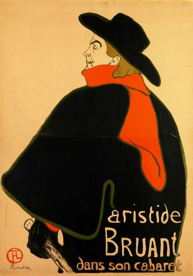 R7-13 Henri Toulose-Lautrec - Aristide Bruant
