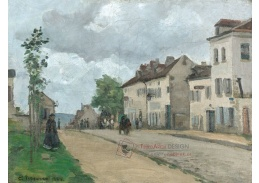 D-8113 Camille Pissarro - Ulice v Pontoise