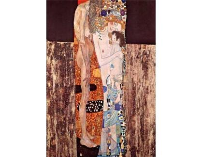R3-10 Gustav Klimt - Tři období života ženy