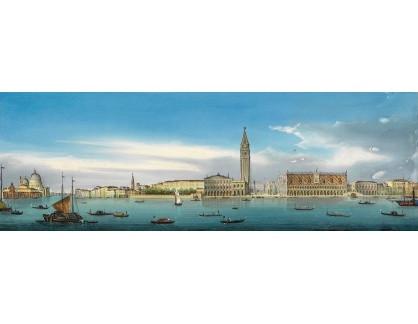 VP411 Neznámý autor - Panorama Benátek