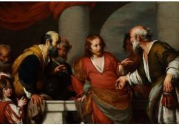 Slavné obrazy XI-124 Bernardo Strozzi - Hold peněz