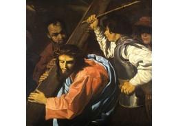 XII-482 Matthias Stomer - Kristus nesoucí kříž