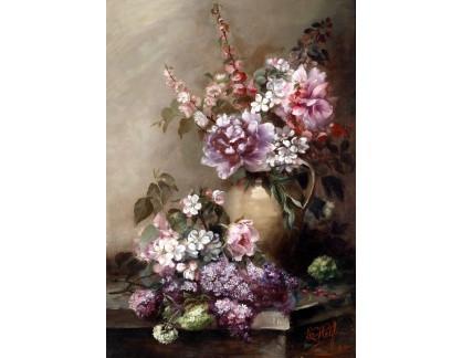 Krásné obrazy II-450 Neznámý autor - Velké květinové zátiší