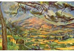R10-102 Paul Cézanne - Hora Sainte-Victoire