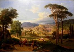 VN-11 August Wilhelm Julius Ahlborn - Pohled na Spoleto