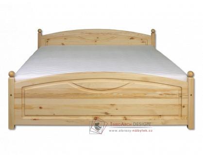 KL-103, postel 180x200cm, borovicový masiv
