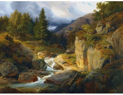 KO III-257 Louis Gurlitt - Norská krajina