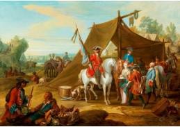 DDSO-3719 Jan Peeter Verdussen - Kavalérie vévody Savoyského