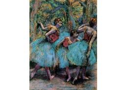 VR6-73 Edgar Degas - Tři tanečnice
