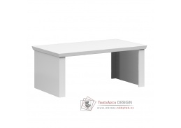 ARYAN, konferenční stolek 110x60cm, bílá