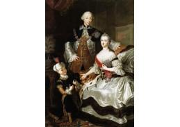 DDSO-2603 Dmitry Levitsky - Portrét Petra III a Kateřiny II