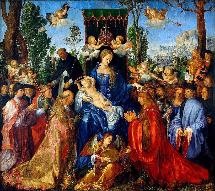 VR12-34 Albrecht Dürer - Růžencová slavnost