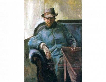 VEM13-94 Edvard Munch - Spisovatel Hans Jaeger