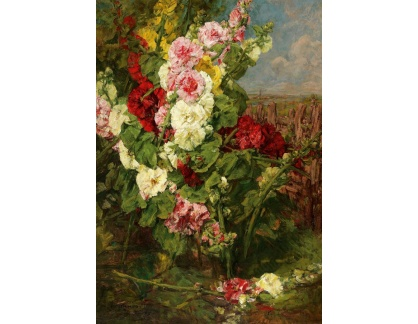 Slavné obrazy I-DDSO-147 Georges Jeannin - Květinové zátiší