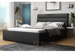 ALDONI, postel 180x200cm, látka Victoria 14868