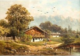 D-9518 Josef Rziwnatz - Alpská krajina