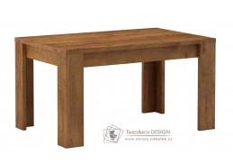 Jídelní stůl rozkládací 120x80cm KORA světlý jasan