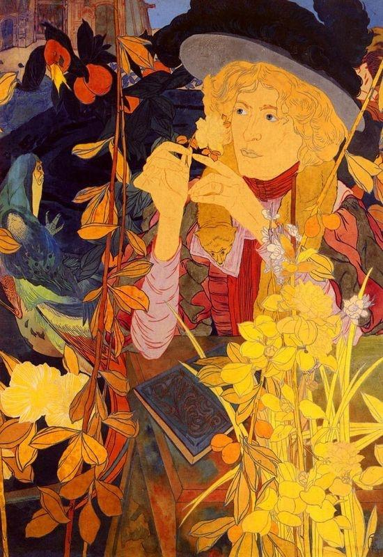 Slavné obrazy X 10 Georges de Feure