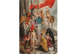 D-6110 Peter Paul Rubens - Marie s dítětem uctívaná svatými