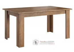 LENA, jídelní stůl rozkládací O, dub lefkas