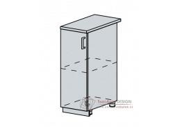 VERONA, dolní skříňka 1-dveřová 30D, bílá / jasan šimo