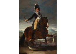 D-6288 Francisco de Goya - Jezdecký portrét Fernanda VII