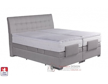 ASTRID, postel 160x200cm box-spring, elektrické polohování