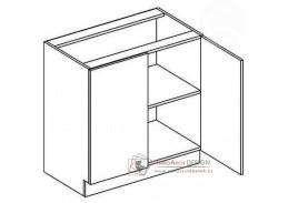 Dolní skříňka dvojdvéřová D80 GOBI
