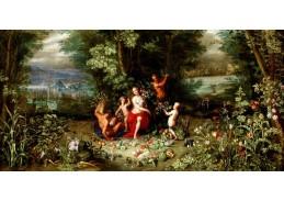 VP206 Jan Brueghel - Alegorie ročních období