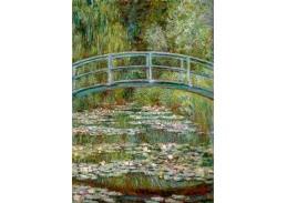 KO V-407 Claude Monet - Japonský most s vodními liliemi