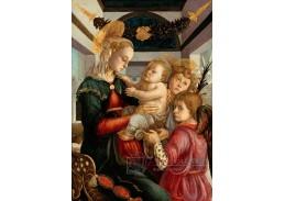 A-84 Sandro Botticelli - Madonna s dítětem a anděly
