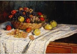 DDSO-2132 Claude Monet - Jablka a hrozny