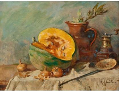 KO III-356 Rene Louis Chretien - Zátiší s melounem