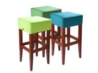 Židle z ohýbaného bukového masívu