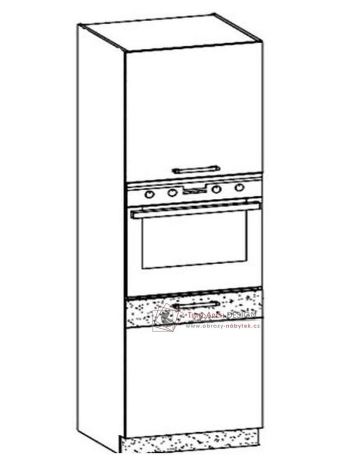 MODENA, vysoká skříňka pro vestavbu trouby MD29/D60P