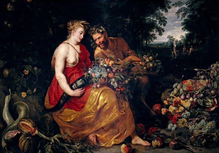 VRU205 Peter Paul Rubens a Frans Snyders - Ceres a Pan
