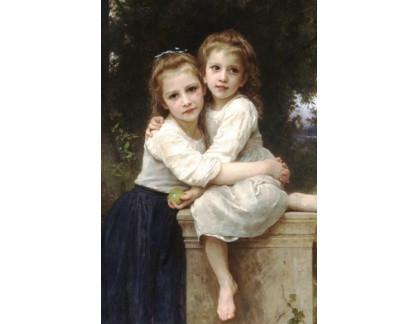 R15-54 Adolph William Bouguereau - Dvě sestry