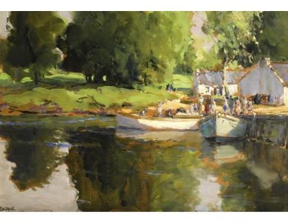 Krásné obrazy IV-27 James Humbert Craig - Začátek léta