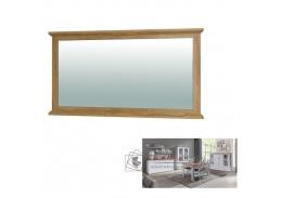 LEON MZ16, zrcadlo, bílá / dub grand