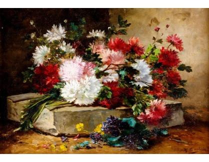 DDSO-4505 Eugéne Henri Cauchois - Květinové zátiší